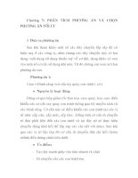 thiết kế dây chuyền tự đông lắp ráp bút bi ( TL 034 ), chương 7 pdf