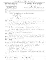 Một số đề thi vào THPT từ 200-2009 và một số đề đã thi TH_THCS Quảng Trị