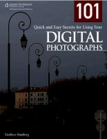 101 QUICK AND EASY SECRETS FOR USING YOUR DIGITAL PHOTOGRAPHS- P1 docx
