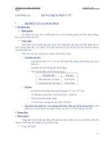 Chương 11: Dung dịch phân tử doc