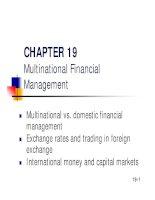 Slide Financial Management - Chapter 19 pdf