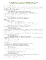 Hệ thống các bài tập đại số và giải tích lớp 11 pptx