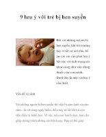 9 lưu ý với trẻ bị hen suyễn pot
