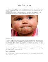 Nôn ói ở trẻ em potx