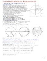 Bài toán quãng đường thời gian trong dao động điều hòa chuyển động tròn đều Chuyên đề ôn thi ĐH CĐ Vật Lý Thầy Đoàn Văn Lượng