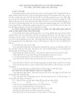 MỘT SỐ KINH NGHIỆM ÔN TẬP THI TỐT NGHIỆP 12
