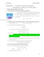 Chương 14: Cân bằng trong dung dịch chất điện ly khó tan và phức chất pot