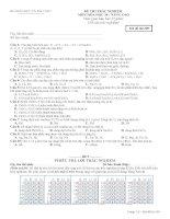 Kiểm tra 15 phút - Chương oxi lưu huỳnh