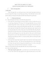 PHÂN TÍCH TÁC ĐỘNG CỦA THUẾ ĐÁNH VÀO HOẠT ĐỘNG XUẤT NHẬP KHẨU
