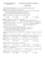 Đề kiểm tra vật lý lớp 12 văn bản potx