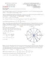 đi thi thử đại học vật lý có lời giải chi tiết đề số 5