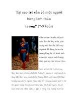 Tại sao trẻ cần có một người hùng làm thần tượng? (7-9 tuổi) docx