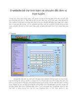 9 website hỗ trợ tính toán và chuyển đổi đơn vị trực tuyến
