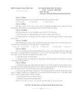 Đề  thi HSG vòng huyện -môn Hóa Học - NH07-08