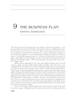 PORTABLE MBA IN FINANCE AND ACCOUNTING CHAPTER 9 potx