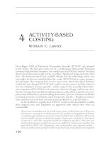 PORTABLE MBA IN FINANCE AND ACCOUNTING CHAPTER 4 pps