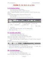 Giáo trình CorelDraw 8 - Chương 2 potx