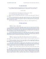 NGHỊ ĐỊNH SỐ 166/2004/NĐ-CP docx
