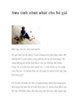 Sửa tính nhút nhát cho bé gái pptx