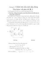 thiết kế và thi công mô hình mạch kích THYRISTOR trong thiết bị chỉnh lưu có điều khiển, chương 5 pptx