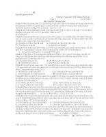 Bài Tập Ôn Thi Đại Học Môn Hóa potx