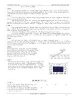 Bài tập cho học sinh giỏi vật lý 8