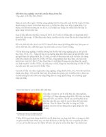Thông tin về ô nhiễm môi trường - Phần 2 pps