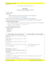 GIÁO ÁN LỚP 1 TUẦN 33 CKTKN ĐẸP ĐẦY ĐỦ