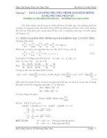 Bài giảng chuyên đề Phương pháp tính Phần 8 pot