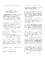 CHƯƠNG III - QUAN HỆ GIỮA TỶ SUẤT LỢI NHUẬN VÀ TỶ SUẤT GIÁ TRỊ THẶNG DƯ docx
