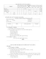 Đề thi Học kỳ II - Môn Ngữ Văn 6 _ Đề chẵn 1