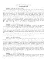 Tóm tắt các tác phẩm văn xuôi 12-ngữ văn