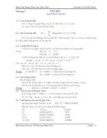 Bài giảng chuyên đề Phương pháp tính Phần 2 pdf