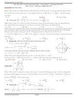 đi thi thử đại học vật lý có lời giải chi tiết đề số 2
