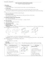 Bài tập về khái niệm khối đa diện doc