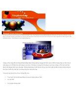 Giáo trình Adobe Photoshop - Chương 9 pps