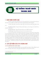 Giáo trình cấp thoát nước - Chương 8 ppt