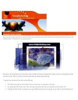 Giáo trình Adobe Photoshop - Chương 8 pot