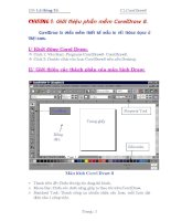 Giáo trình CorelDraw 8 - Chương 1 potx