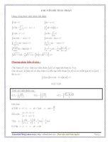 Phương pháp tìm nguyên hàm, tích phân pptx