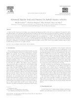 Advanced bipolar lead±acid battery for hybrid electric vehicles docx