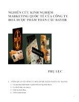 Tài liệu bài giảng Maketing