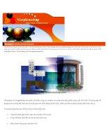 Giáo trình Adobe Photoshop - Chương 3 pdf
