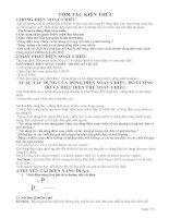 Tài liệu hướng dẫn ôn tập thi học kì 2 môn vật lí 9