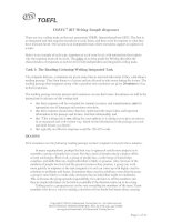 TOEFL iBT Writing Sample Responses pot