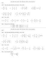 Đề kiêm tra 1 tiết Số học 6 ( tham khảo)