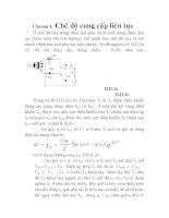 thiết kế và thi công mô hình mạch kích THYRISTOR trong thiết bị chỉnh lưu có điều khiển, chương 4 pps