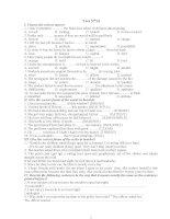 ENGLISH TEST 13