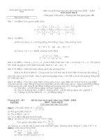 07 de thi HSG toan 8 cac tinh - dap an