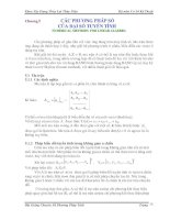 Bài giảng chuyên đề Phương pháp tính Phần 6 docx